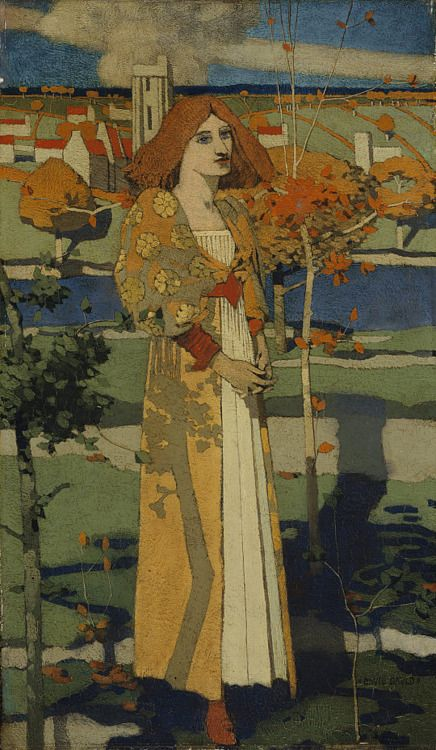 David Gauld (1835-1936) - Saint Agnes, 1889-1890  National Galleries of Scotland