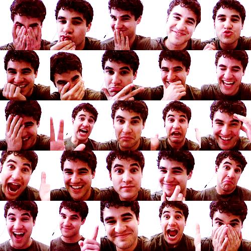 Darren Criss... Pin all the faces!
