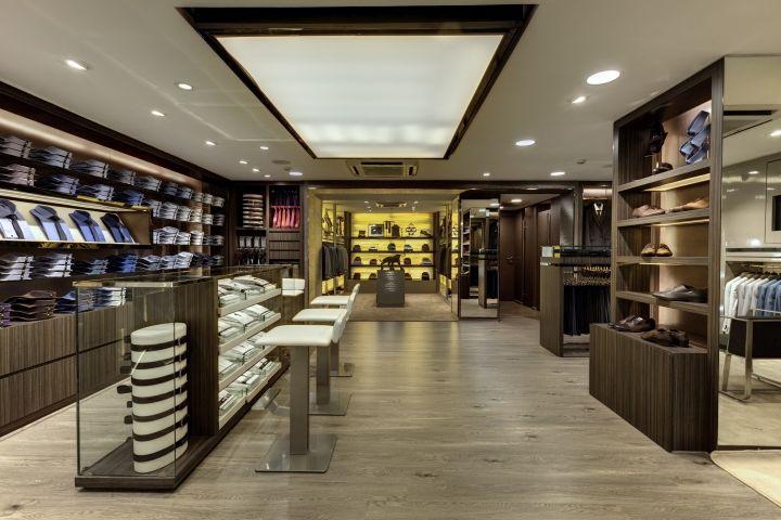 54e67eedd3 Дизайн интерьера магазина Van Heusen в Индии