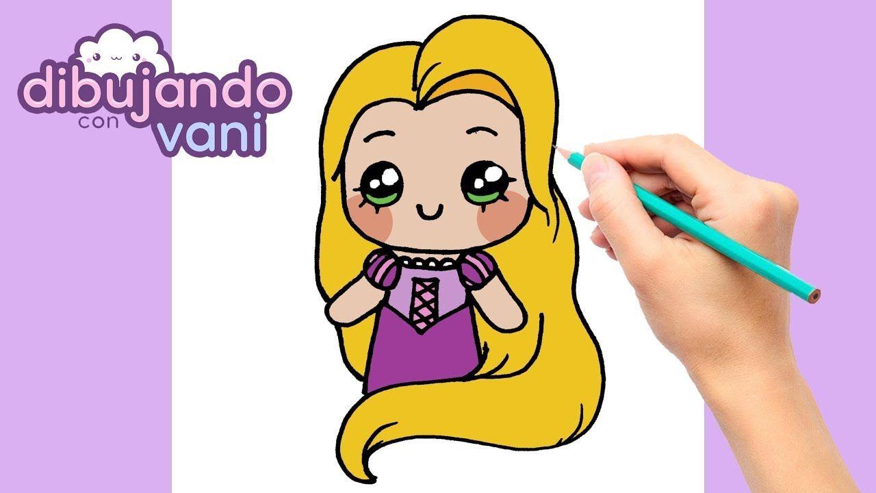 Como Dibujar A Rapunzel Paso A Paso Dibujos Para Dibujar Faciles Kaw Como Dibujar Ninos Dibujos Faciles Para Ninos Dibujo Paso A Paso