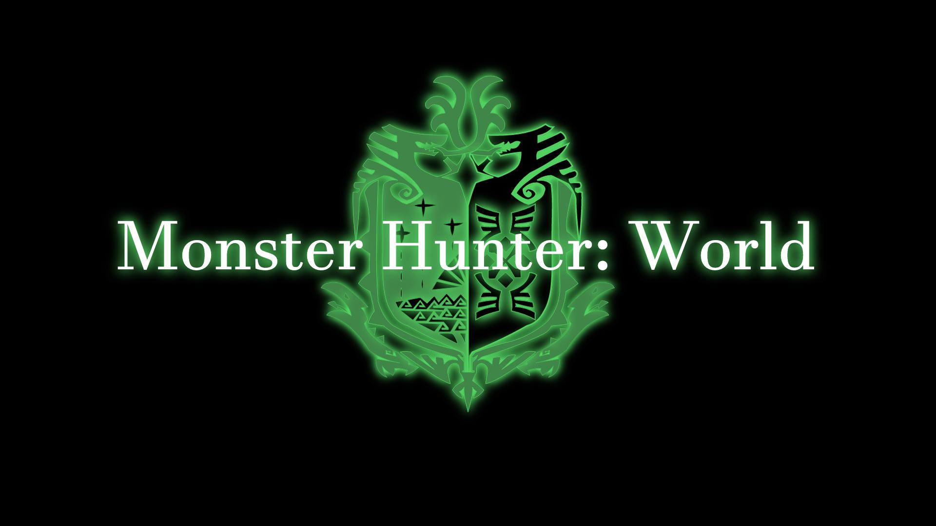 I Made My Own Monster Hunter World Wallpaper Monster Hunter World Wallpaper Monster Hunter World World Wallpaper