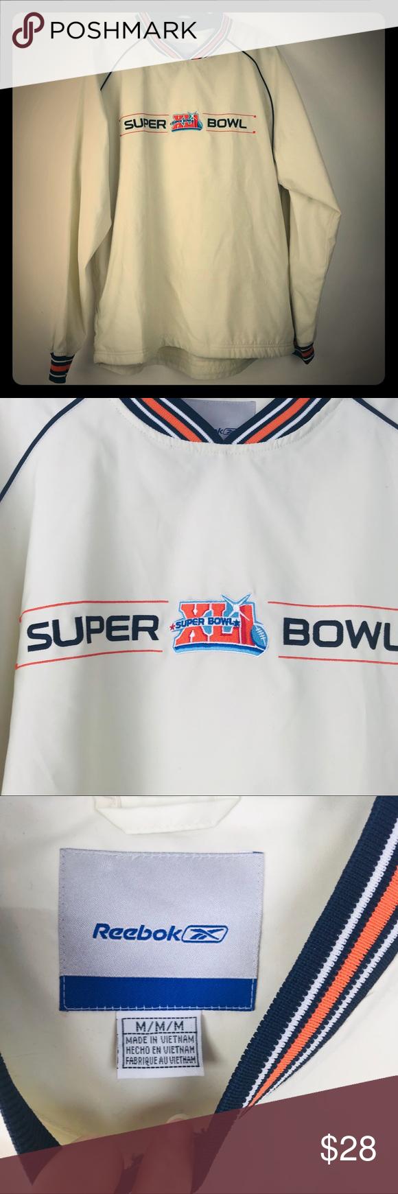 Reebok Super Bowl XLI Beige Windbreaker M Reebok Super Bowl XLI Beige Windbreake..., #beige #Bowl #Reebok #Super #SuperBowl2019 #SuperBowldecorations #SuperBowlfood #SuperBowlfunny #SuperBowlgames #SuperBowlnfl #SuperBowloutfit #SuperBowlparty #SuperBowlquotes #SuperBowlsnacks #Windbreake #Windbreaker #XLI