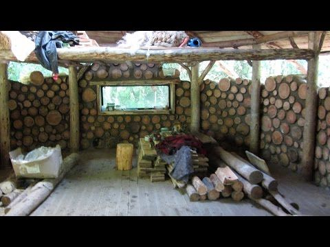 5 Minute Documentary On A Ecologically Sustainable Cordwood House