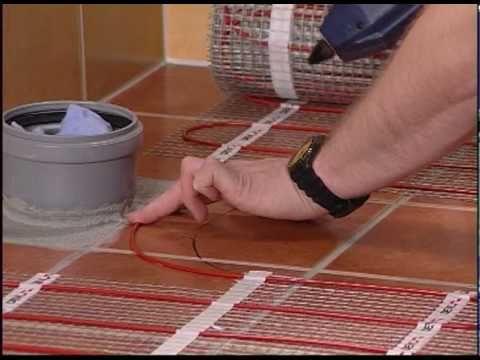 Heated Floor Devi Products Pinterest Underfloor Heating