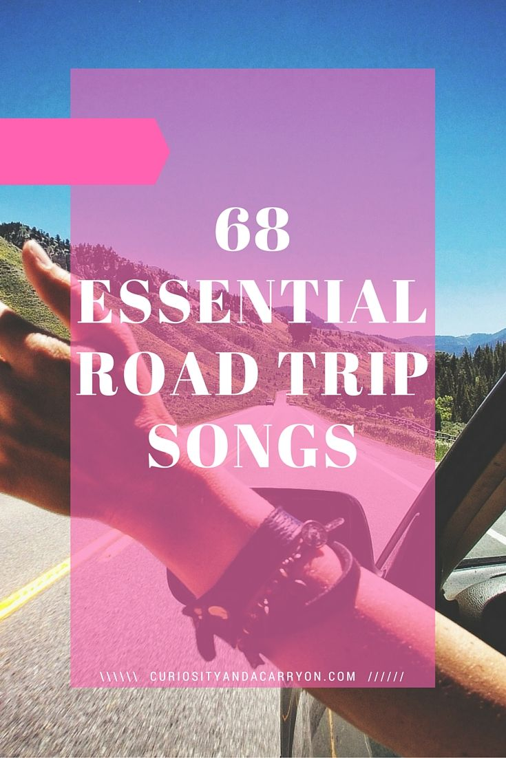 every road trip needs a great playlist and by great i mean a bit