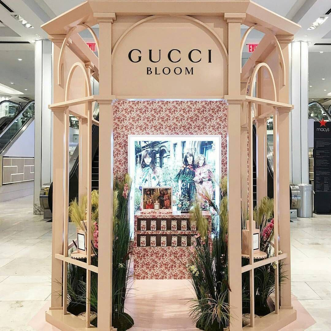 """Pin By Michelle Schank On Home Decorating: MACY'S, Herald Square, New York, """"Bloom By Gucci"""", Pinned"""
