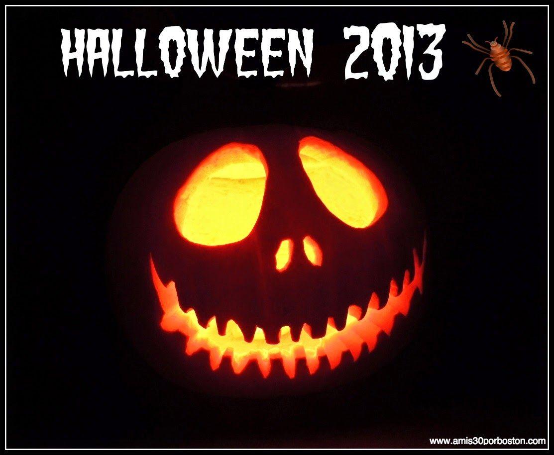 Nuestras calabazas decoradas para halloween hallowen halloween decoraciones de calabaza y - Decoracion calabazas halloween ...