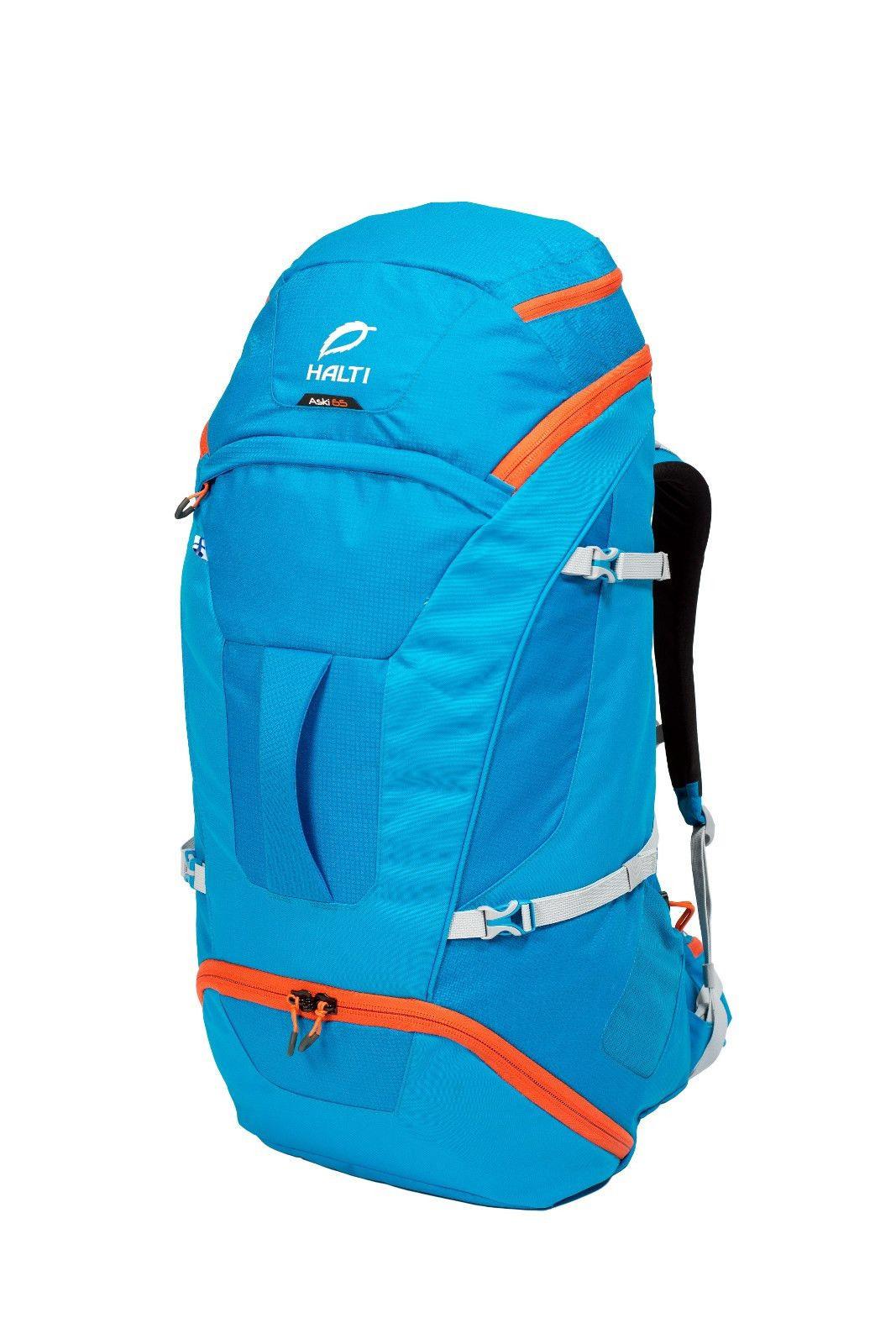Tilava, tukeva matkailurinkka Aski 65 pack | Halti | Backpacks | Halti Store International