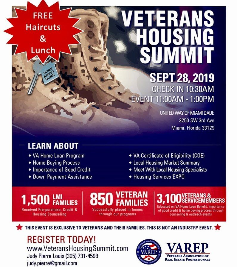 Attentionmilitary veterans interested in buying or