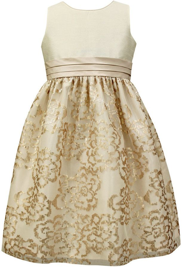 5ac73d13bb9 Jayne Copeland Girls  Sequin-Detail Special Occasion Dress