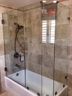 Image Result For 2 Wall Alcove Tub Shower Doors Corner Tub