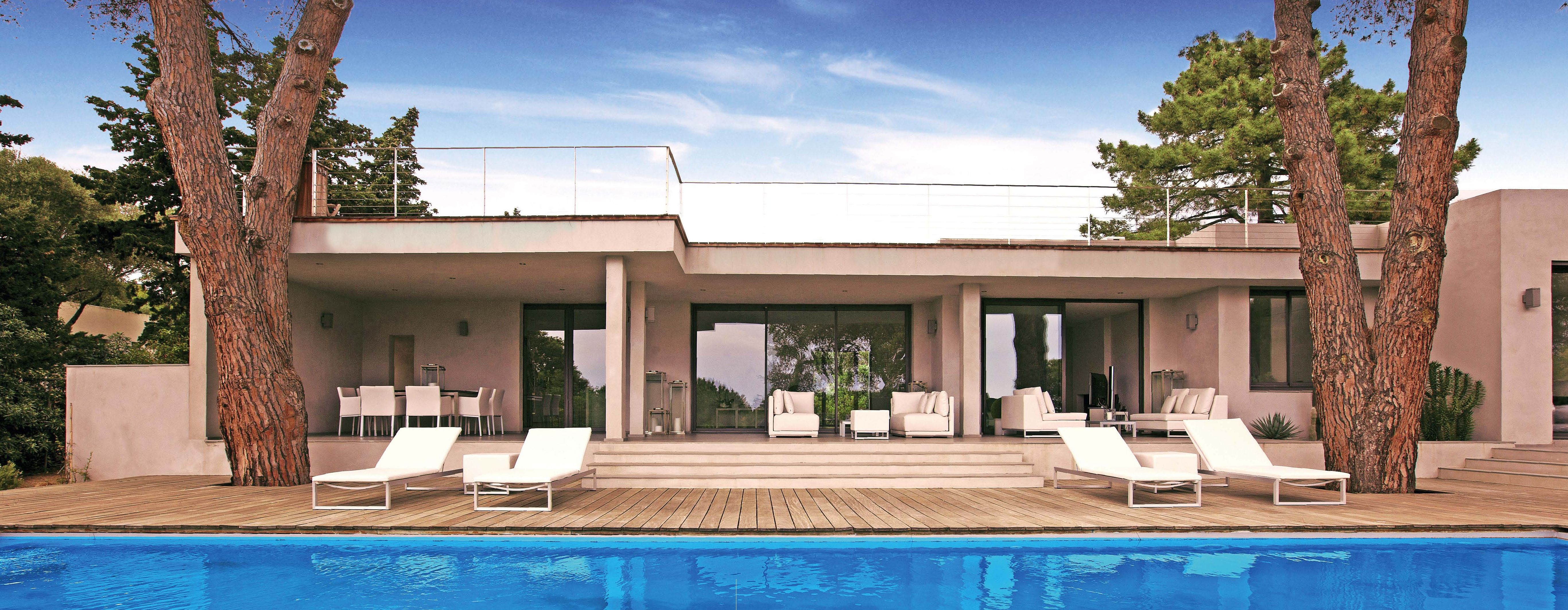 Maison des iles moderne toit plat 10 jpg