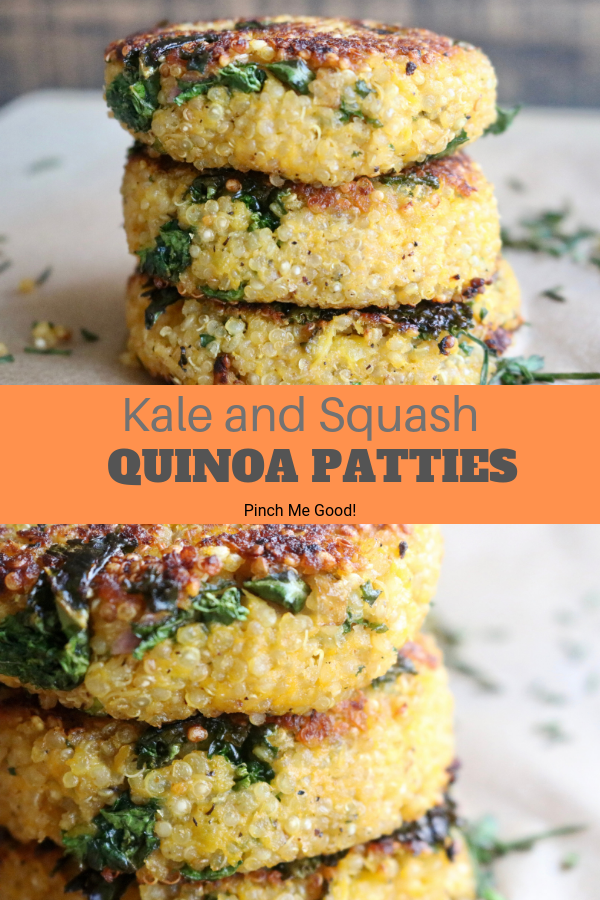 Kale And Squash Quinoa Patties