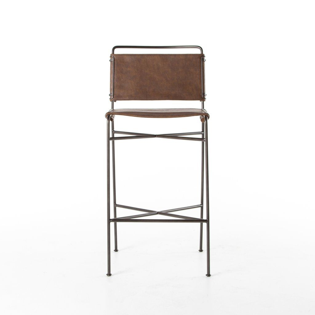 Amazing Wharton Bar Counter Stools In Distressed Brown By Bd Short Links Chair Design For Home Short Linksinfo