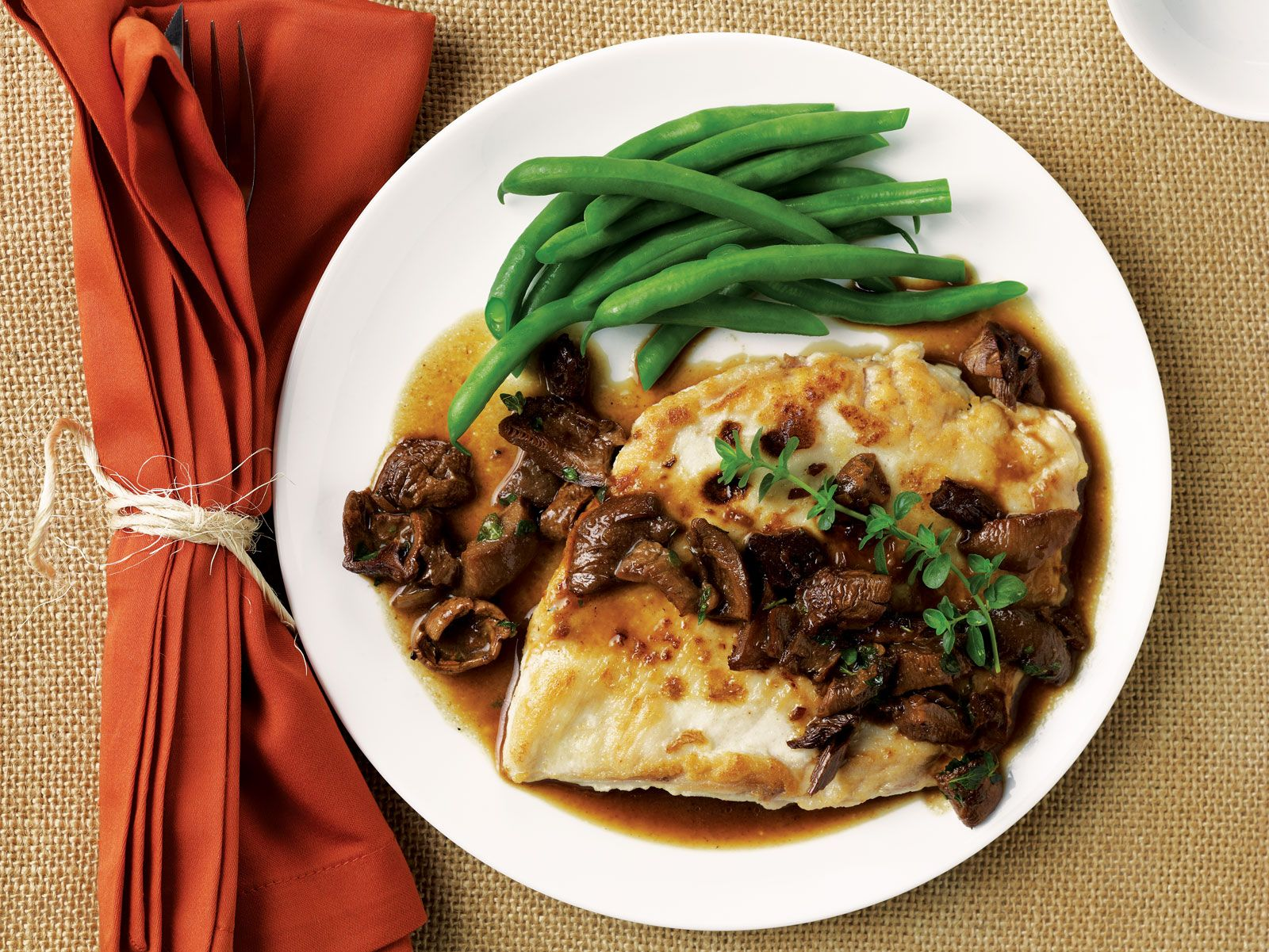 Fall farmhouse dinner menu sauces recipes and dinners elegant chicken recipes for dinner chicken paillards with porcini cider sauce are the centerpiece forumfinder Images
