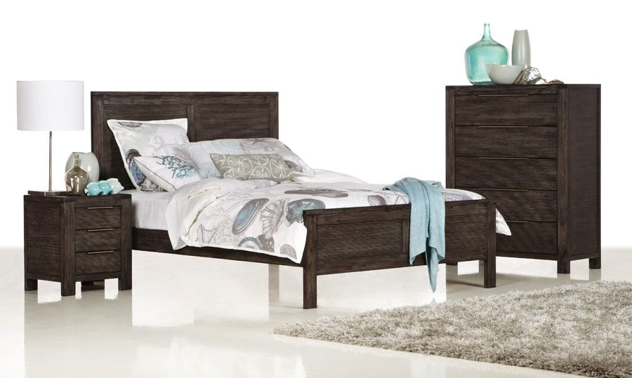 Palm Beach Charcoal - Timber King Size Bed | Bedshed | My future ...