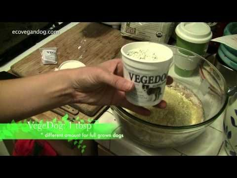 How To Make Vegan Dog Food For A Puppy Using Vegedog
