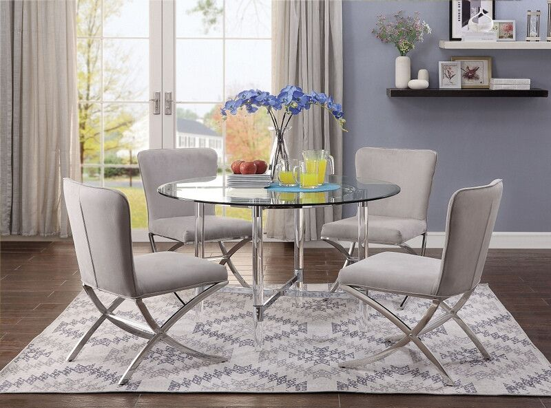 White Dining Table With Ghost Chairs Google Search Ghost
