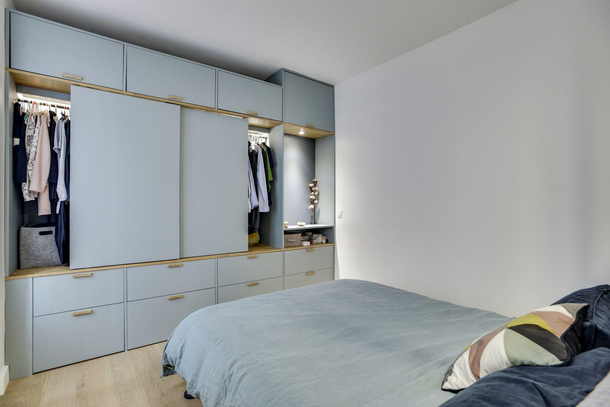 Chambre Avec Dressing En 2019 Chambre Salle De Bain Dressing