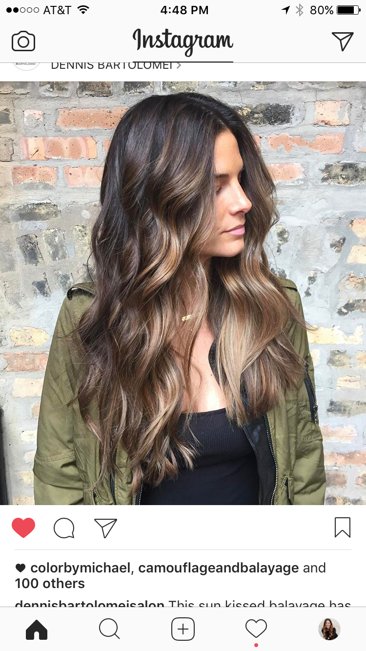 martamykychak   Hair Color   Pinterest   Lange haare, Haarschnitte ...