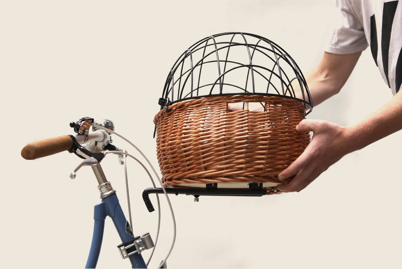 Basil Pluto Basket With Cage Lid Planes Trains Automobiles