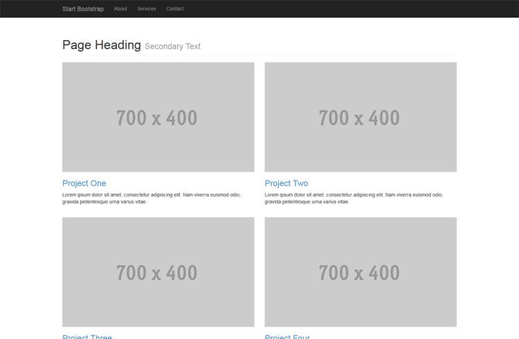 All Free Bootstrap Themes Templates Templates Bootstrap Template Web Design Resources