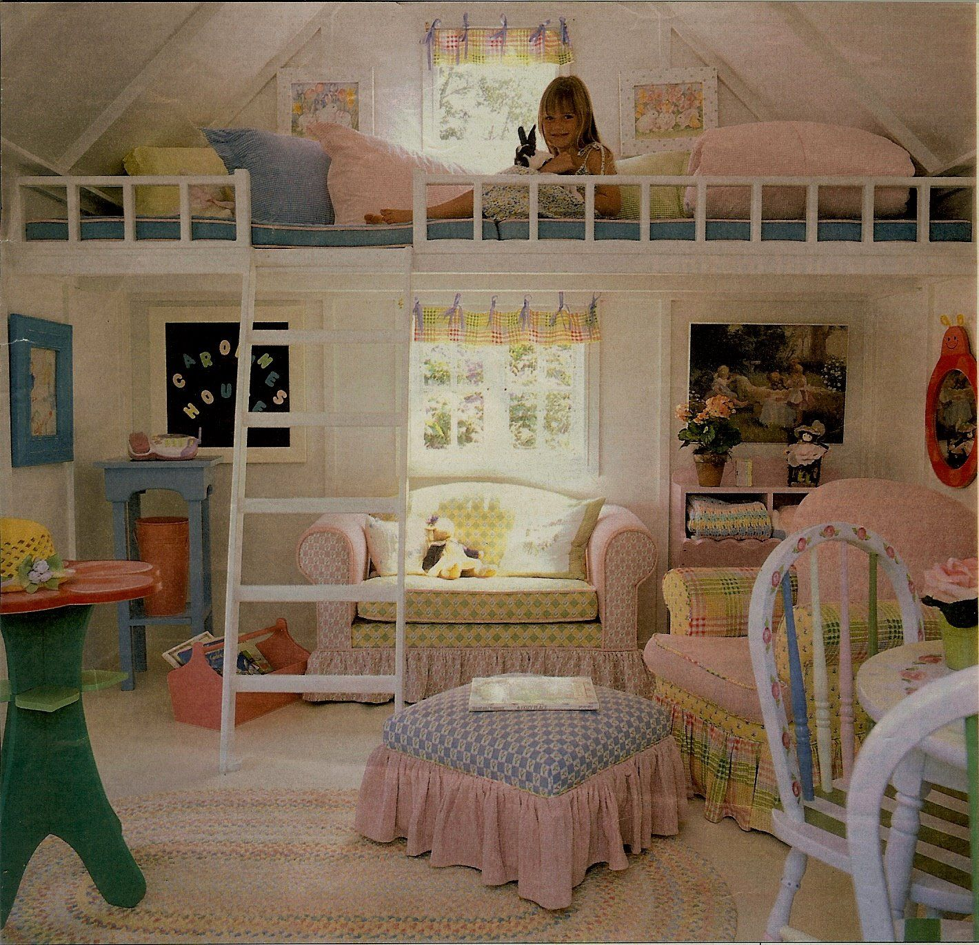 Stora loft bed ideas   Amazing Loft Ideas  Beds and Playrooms  Small scale furniture