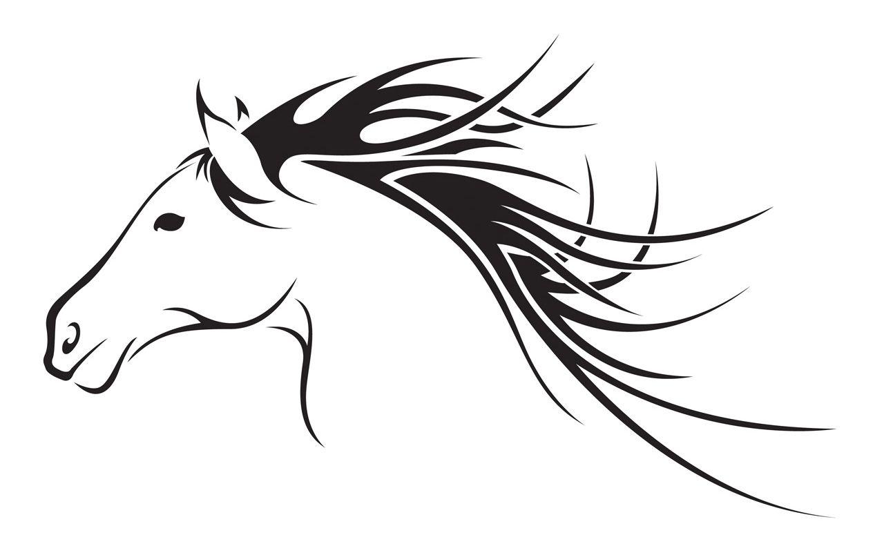 Horse Head Clip Art