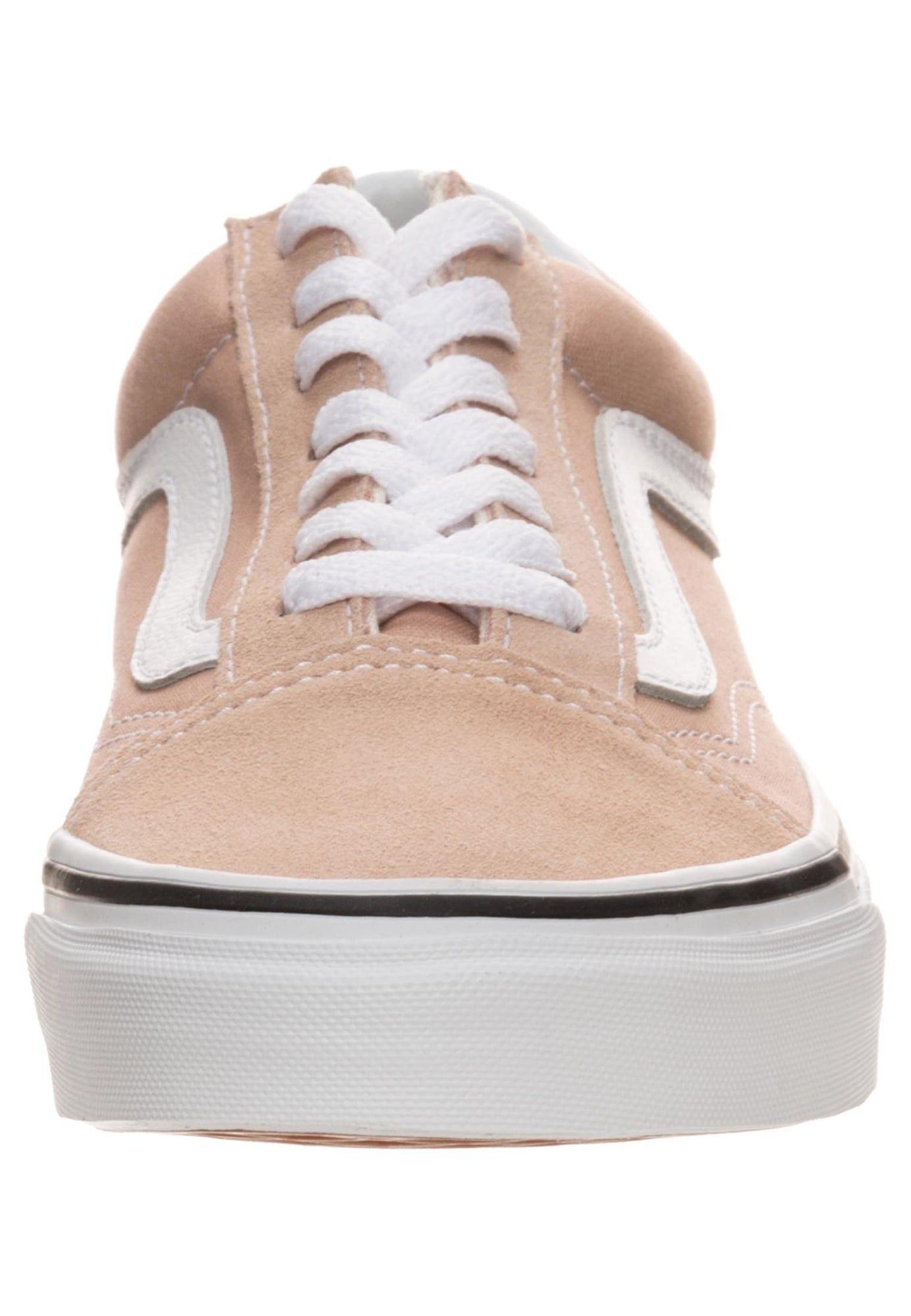 Vans Sneaker Old Skool Damen Altrosa Weiss Grosse 40 Sneaker Vans