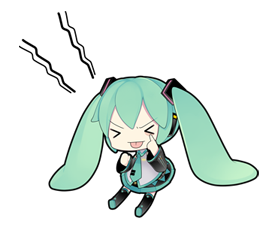 80 Hatsune Miku emoticons free download | Hatsune Miku