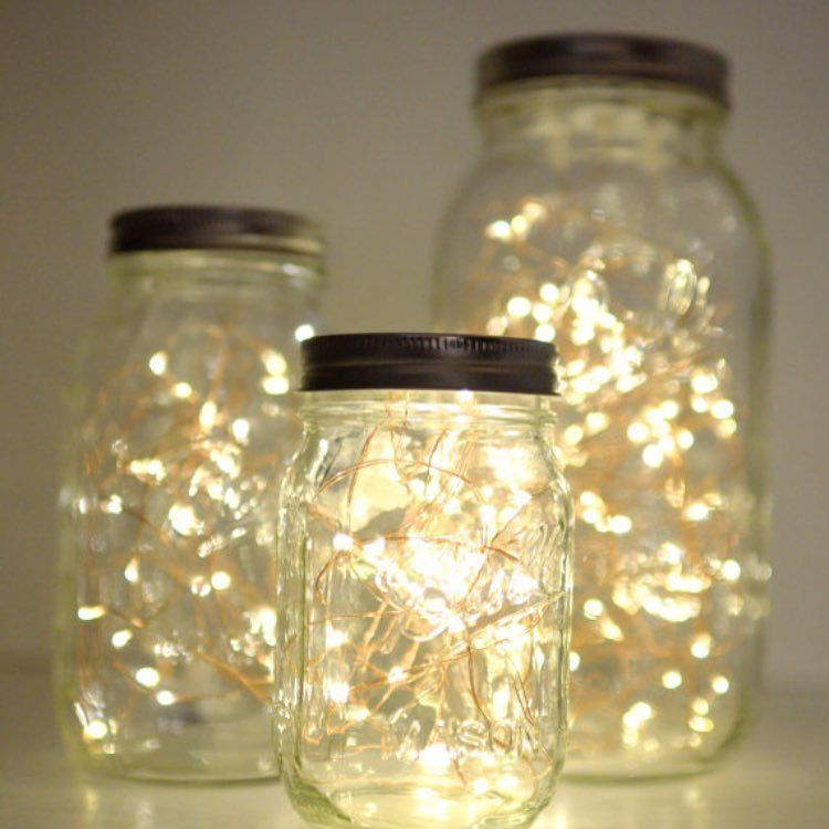 Solarhummingbirdlight In 2020 Mason Jar Fairy Lights Mason Jar Crafts Diy Diy Jar Crafts