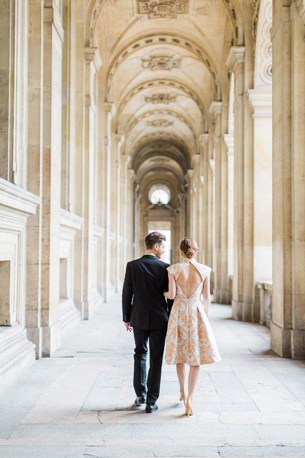 elegant Paris wedding photographer | Image by Chloe Luka Photography