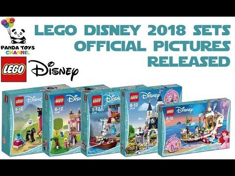 LEGO DISNEY 2018 SETS OFFICIAL PICTURES RELEASED | Lego News Panda ...