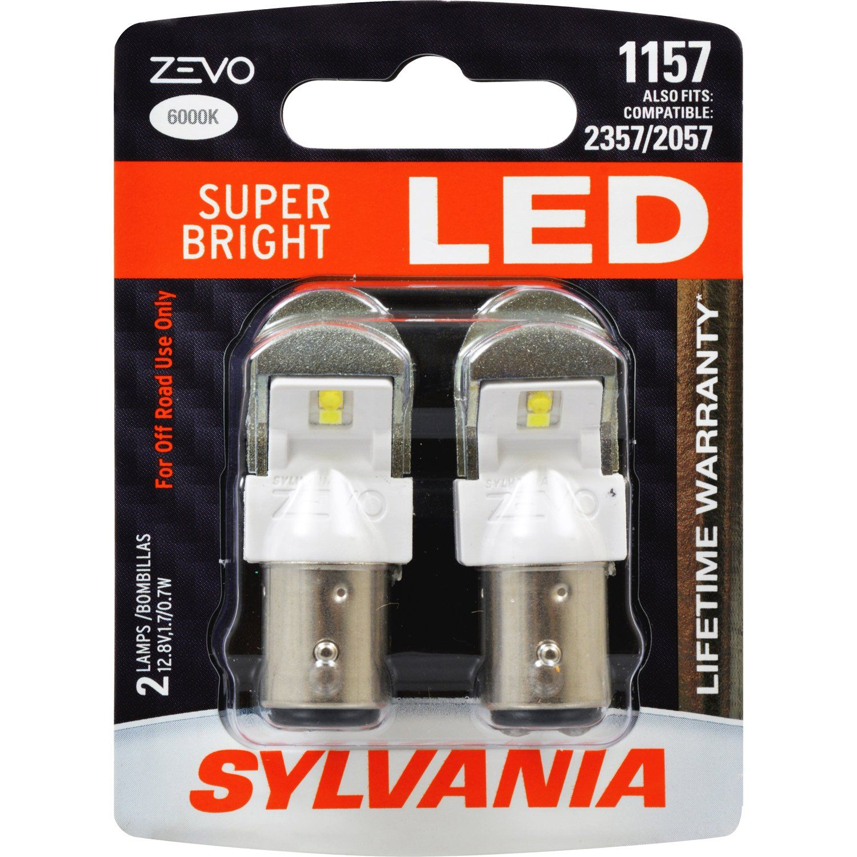 Pack of 2 Sylvania 1156 ST SilverStar High Performance Halogen Miniature Lamp,