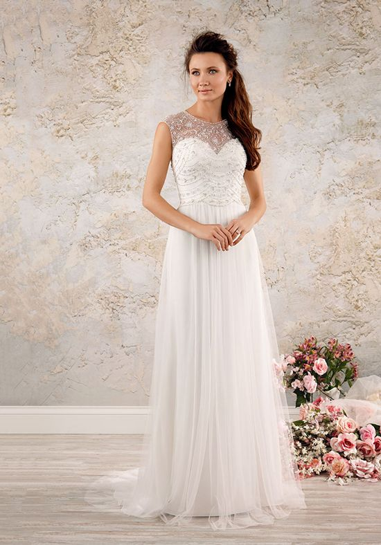 Alfred Angelo Modern Vintage Bridal Collection 8555 | http://trib.al/PYeghBB
