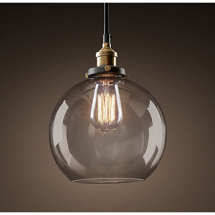 Warehouse of tiffany maisie edison 1 light globe pendant