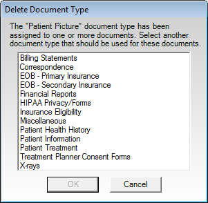 When You Save A Document In The Dentrix Document Center You Must