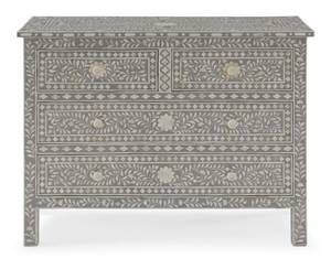 New York For Sale Craigslist Bone Inlay Bone Inlay Dresser Grey Wood