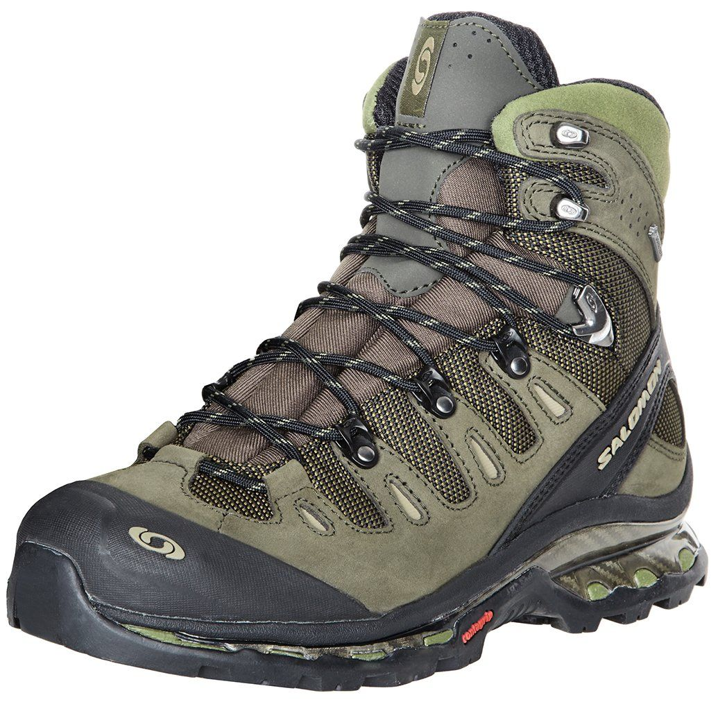low priced fbc29 f9a37 SALOMON Quest 4D GTX Mens Hiking Boots, GreenBlack, UK13 Amazon.co.uk  Shoes  Bags
