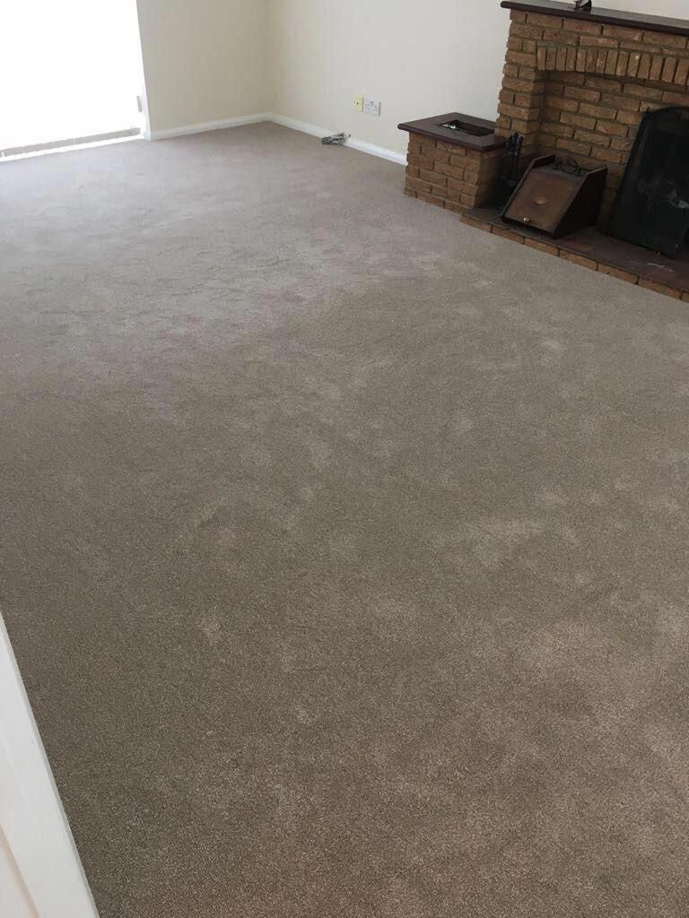 Luxurious Canterbury carpet fitted to all whole house