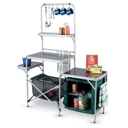 camping kitchens guide gear camp kitchen gadgetgrid - Camping Kitchen Tables