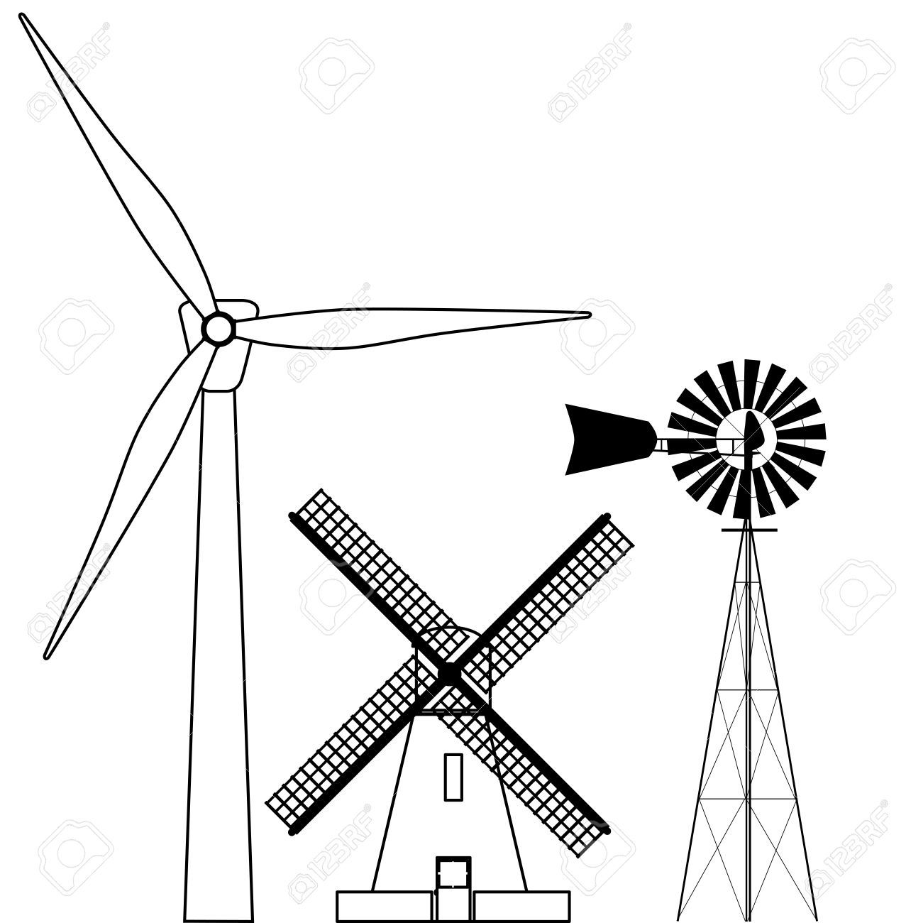 Image Result For Water Windmill Drawings Windmill Drawing Windmill Drawings