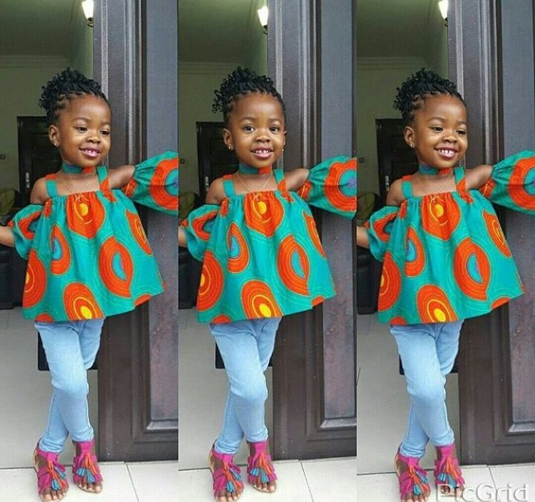 Pin by gephnyn on African fashion for kids | Ankara styles for ...