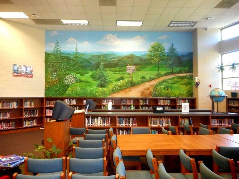 Duncan South Carolina Middle School 16' x 25' Mural
