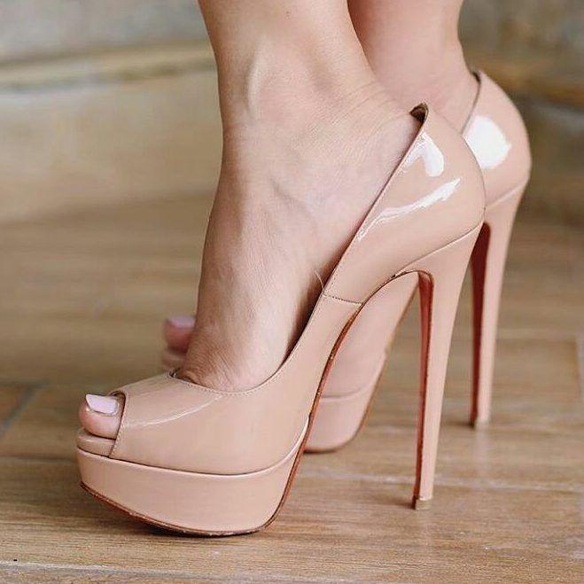 high heels feet porn
