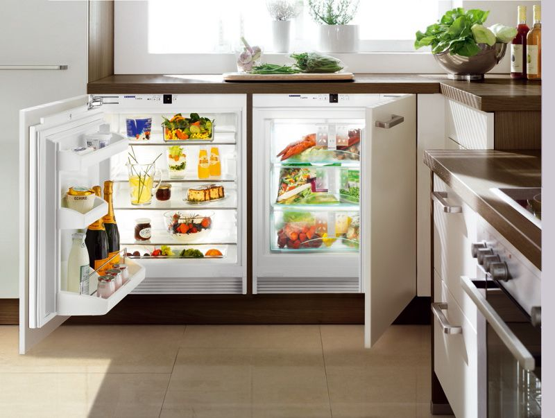 Undercounter Fridge Freezer Combo Perfect For In A Tiny