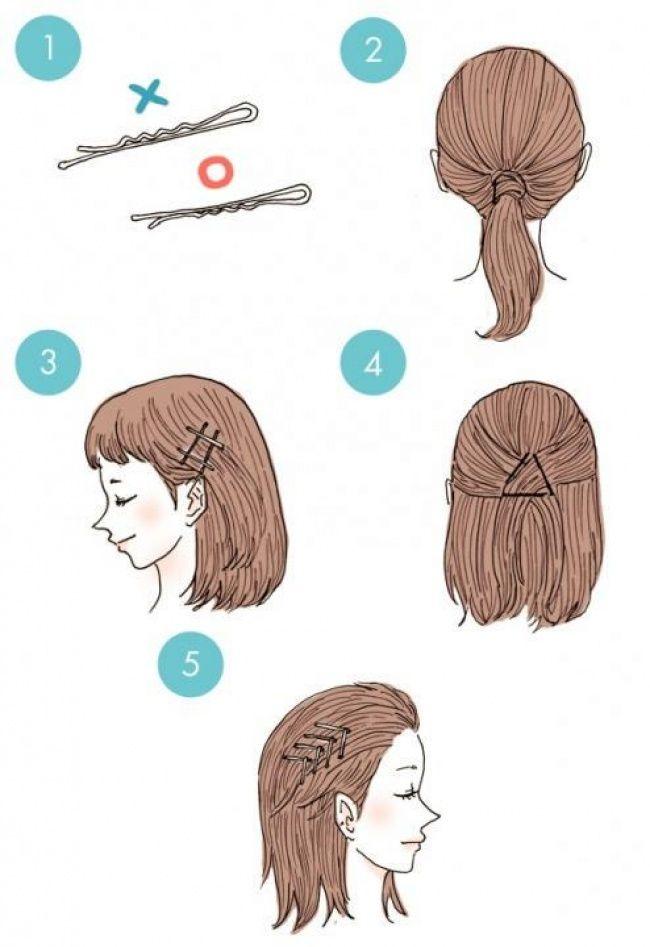 инструкция причесок с картинками