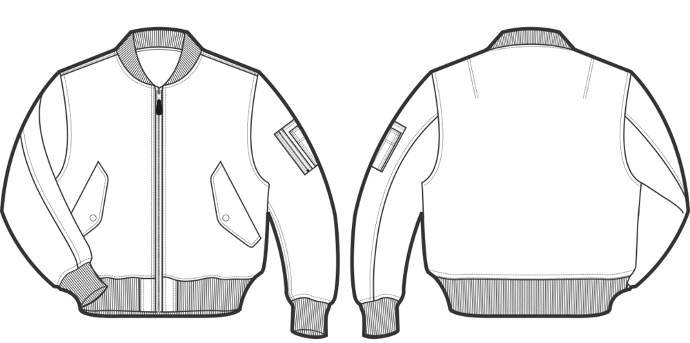 Jacket Technical Drawing Cerca Con Google Flats Pinterest