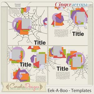 Eek-A-Boo - Templates by Cornelia Designs