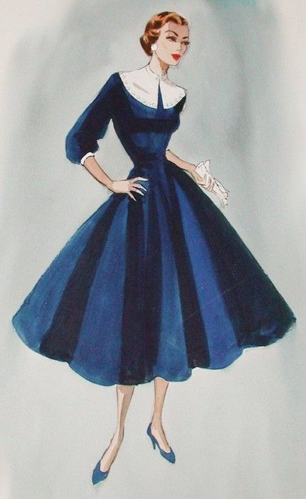 Edith Head Sketch Actress Production Unknown Fashion